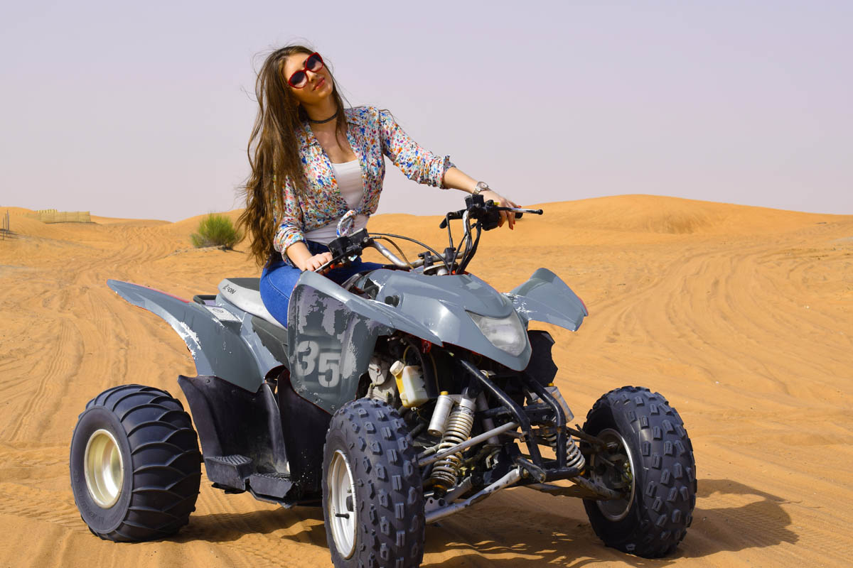 Morning Desert Safari With Camel Ride And Quad Bike