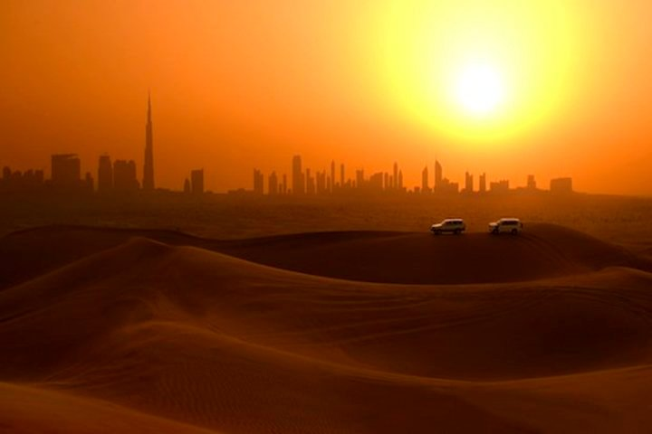 Morning Dubai City Tour + Evening Desert Safari With BBQ Dinner